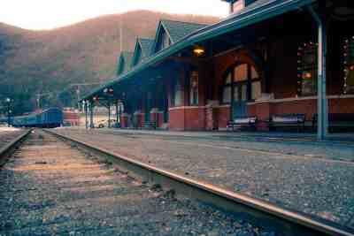 Train Station in Jim Thorpe, PA