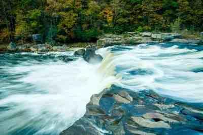 Ohiopyle Falls in Ohiopyle, PA