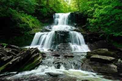 Tuscarora Falls at Ricketts Glen State Park