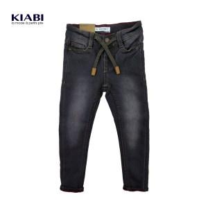 d0c8fae5f37b9 Kiabi Grey Faded-effect skinny jeans