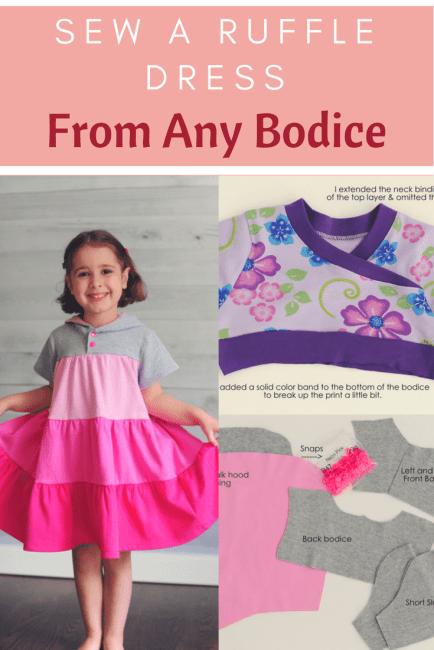 Ruffle Dress Pattern Tutorial