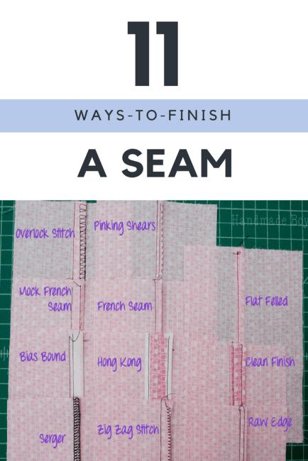 Ways to finish a Seam