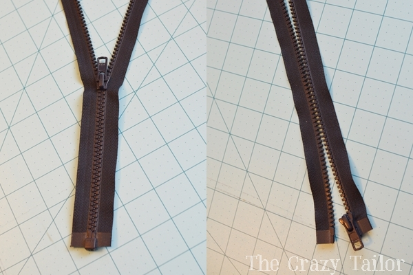 molded plastic zipper
