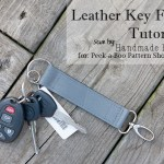 Leather Key Fob Tutorial
