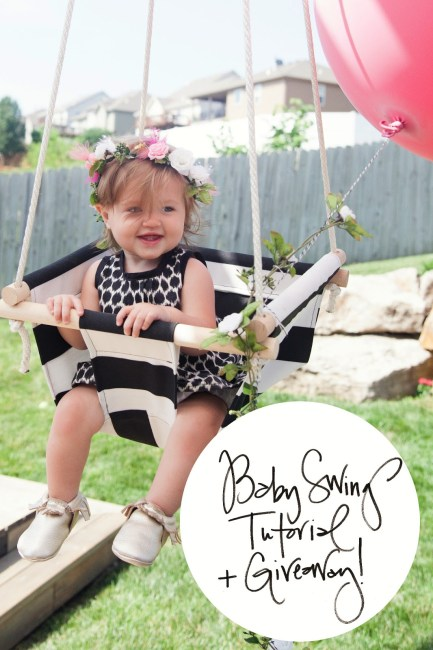 Baby Swing Tutorial and Giveaway