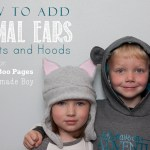How to Add Animal Ears to Hats and Hoods