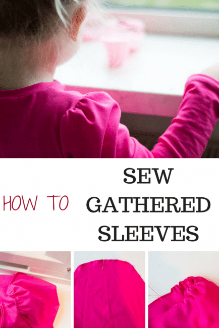 How to Sew a Gathered Shirt