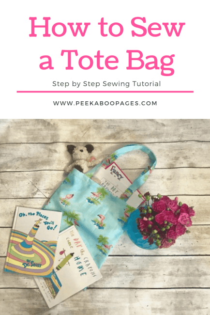 DIY FREE Tote Bag Tutorial
