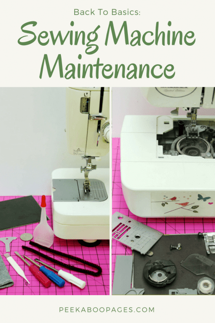 Maintaining a Sewing Machine