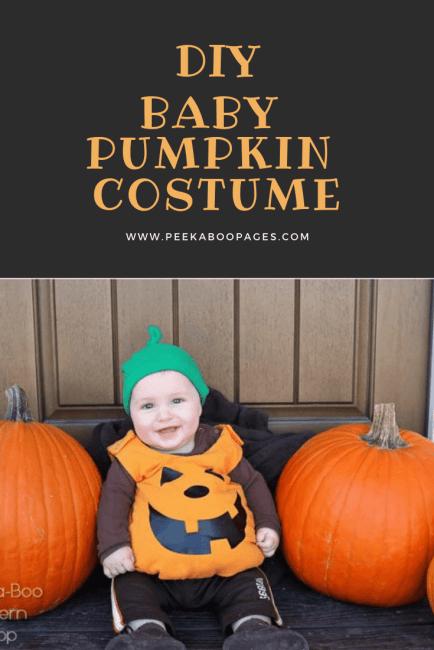 Baby Pumpkin Costume Tutorial