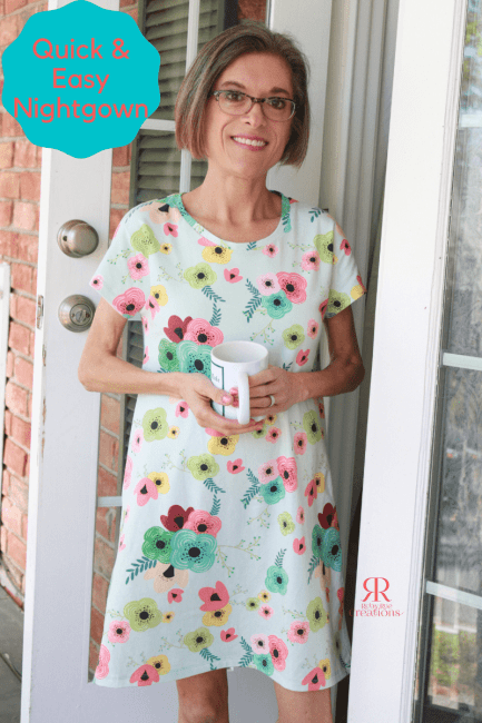 How to Make a Quick & Easy Nightgown