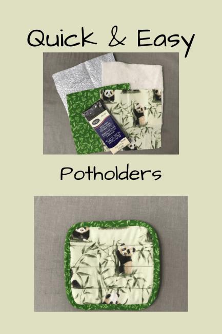 Quick & Easy Potholders