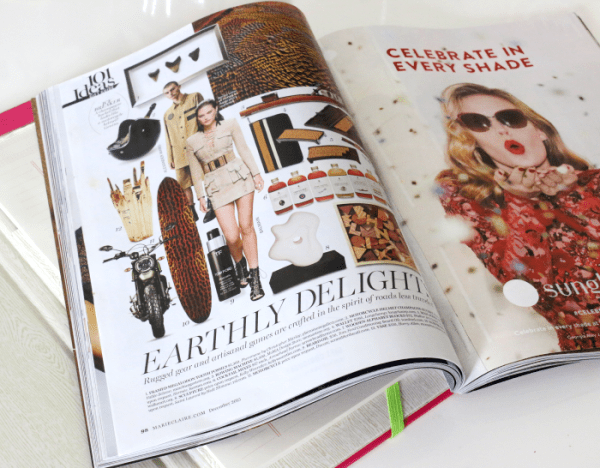 gift inspiration with Marie Claire Magazine