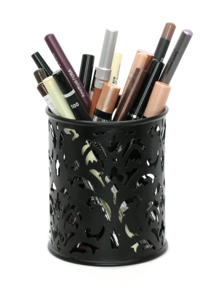pencil cup for makeup storage