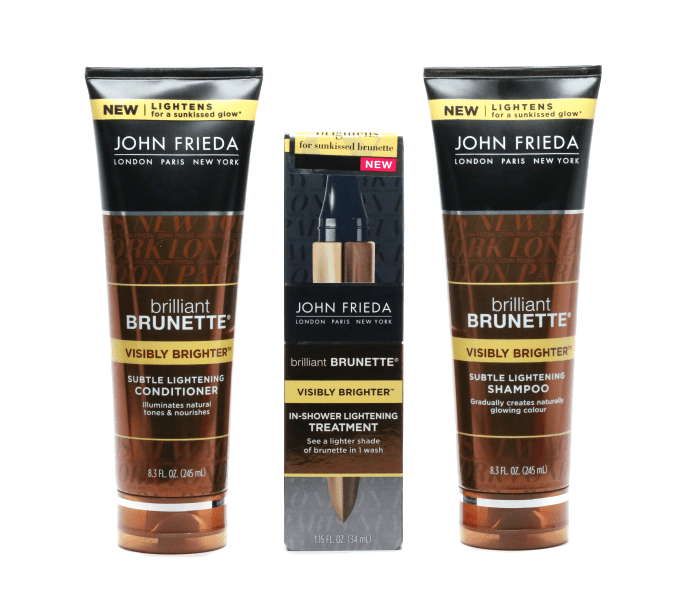 Going Lighter And Brighter With John Frieda Hair Care