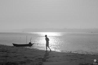 Alone in the sun - Bagan