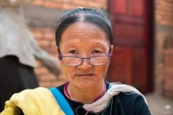 You're talking to me?! - Lanten village along the Nam Tha