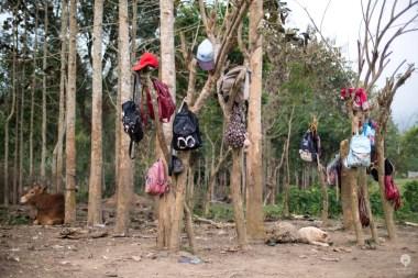 School lockers - Muang Ngoi
