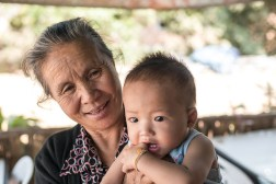 A grandma's pride - Vientiane