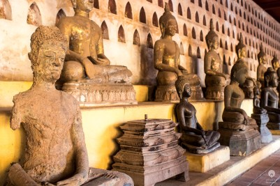 Ran out of decoration ideas? Take a stroll among Wat Si Saket 10 000 buddhas, there's one for every taste - Vientiane