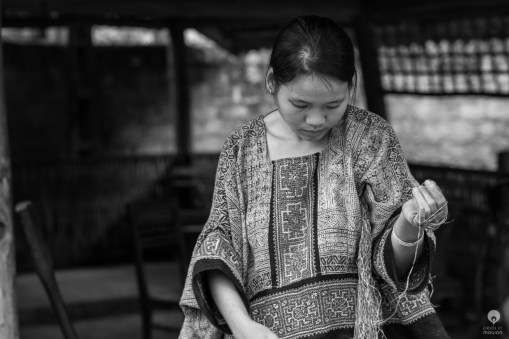 From flax to traditional clothes and back - Lung Tam