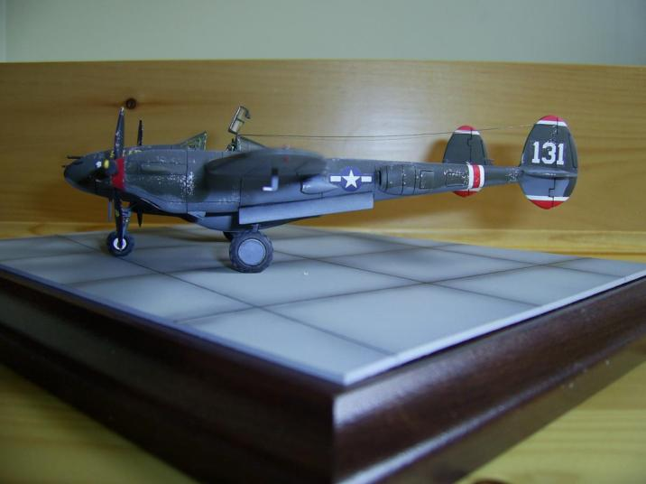P 38H Lightning by Airfix Done (5)