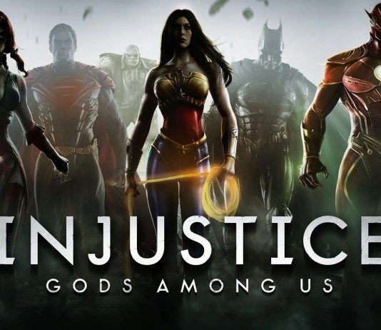 Injustice God Among Us Header