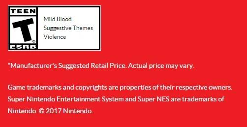 Nintendo Super Nintendo ESRB Rating