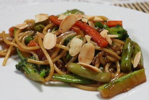 Yakisoba de Legumes