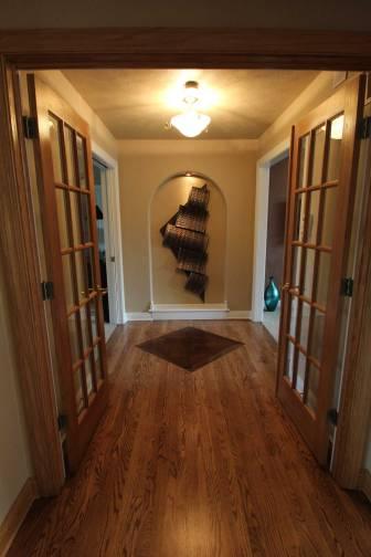 Interior Design Hallway | Pegasus Design Group | Milwaukee, WI