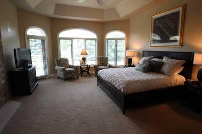 Interior Design Master Bedroom | Pegasus Design Group | Milwaukee, WI