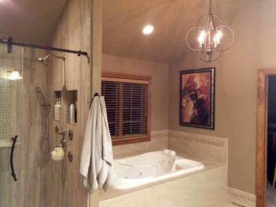 Finished: Master Bathroom Remodel | Interior Design | Peagsus Design Group
