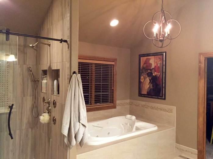Finished: Master Bathroom Remodel | Interior Design | Peagsus Design Group
