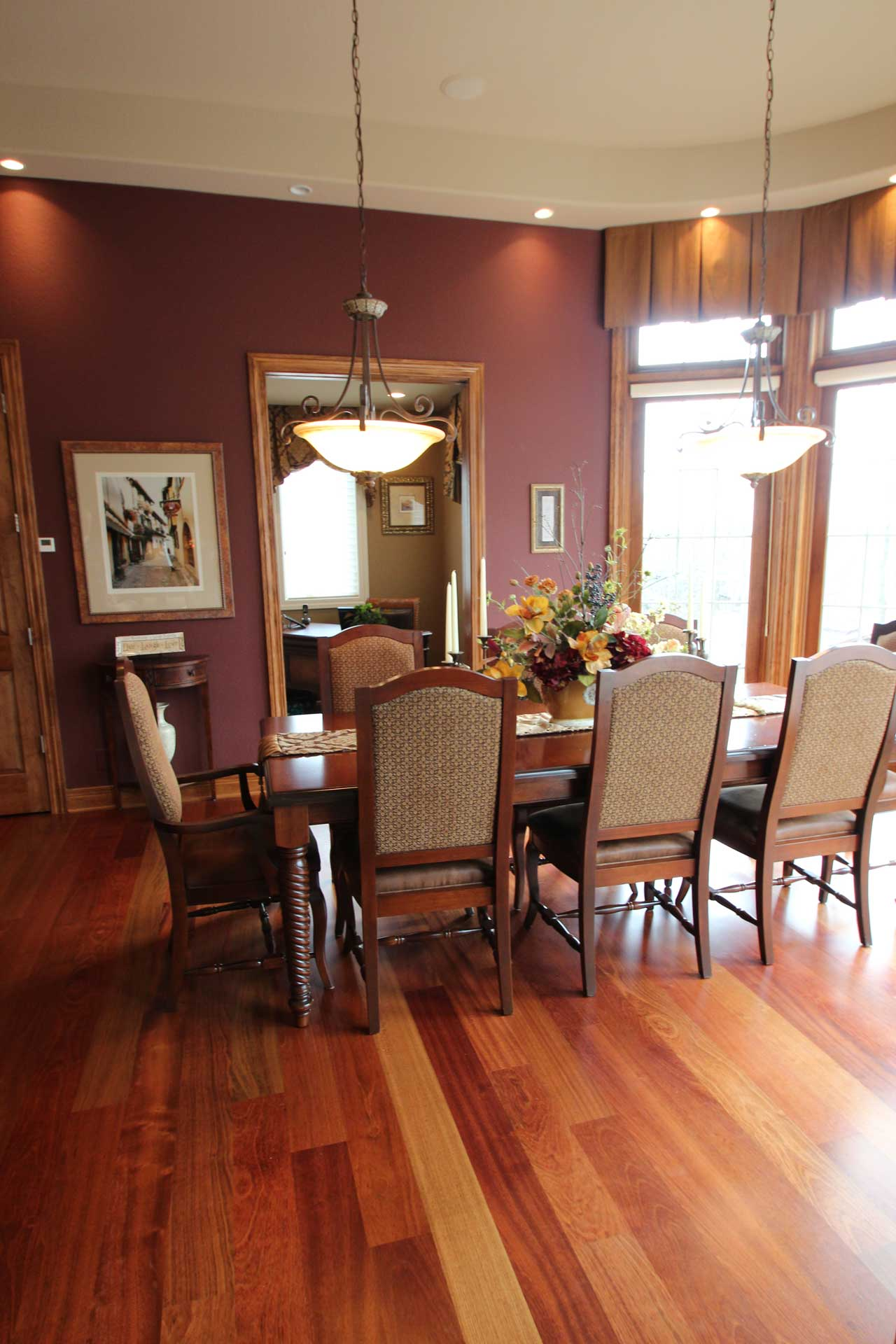 Interior Design Formal Dining Room | Pegasus Design Group | Milwaukee, WI