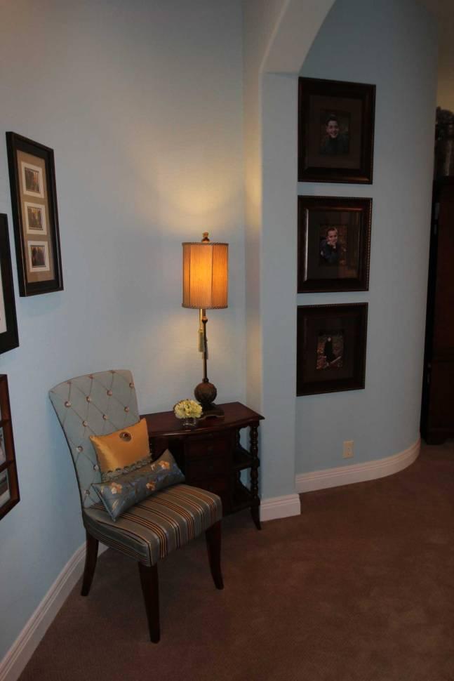 Interior Design Bedroom Sitting Area | Pegasus Design Group | Milwaukee, WI