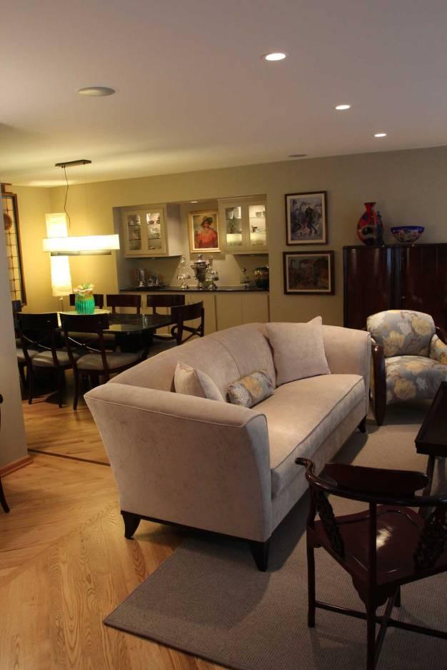 Interior Design Transitional Living Room | Pegasus Design Group | Milwaukee, WI