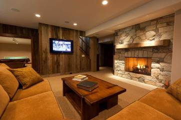 Interior Design Rec Room | Pegasus Design Group | Milwaukee, WI