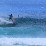 Sessions at our back up waves, Middles and Paster Point, were highlights this week