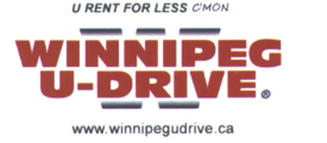 Winnipeg U-Drive logo bus card