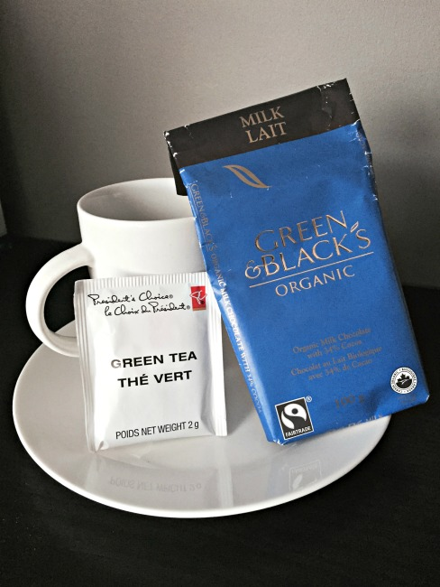 GandBMilk Green Tea