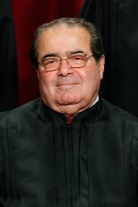 The late Supreme Court Justice Antonin Scalia