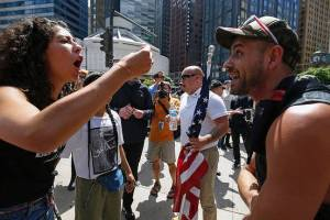"""March Against Sharia"" protest in Chicago"