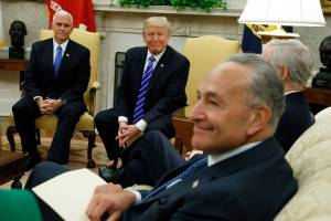 Congressional leaders meet with President Trump