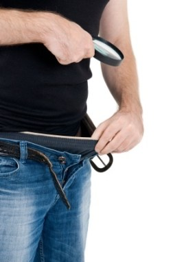man checking inside pants - Penis Enlargement Results Come From Setting a Goal