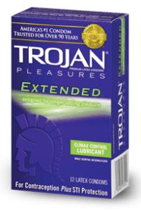 Climax control condoms use Benzocaine to desensitize the penis.