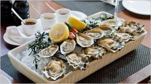 Oysters are an excellent source of zinc.