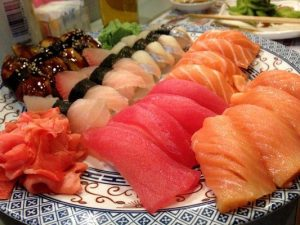 Fatty fish like tuna, salmon and mackarel are great for sperm quality.