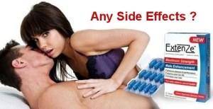 extenze side effects