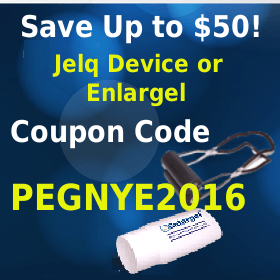 Jelq Device New Year Square banner