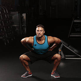 squats can improve testosterone